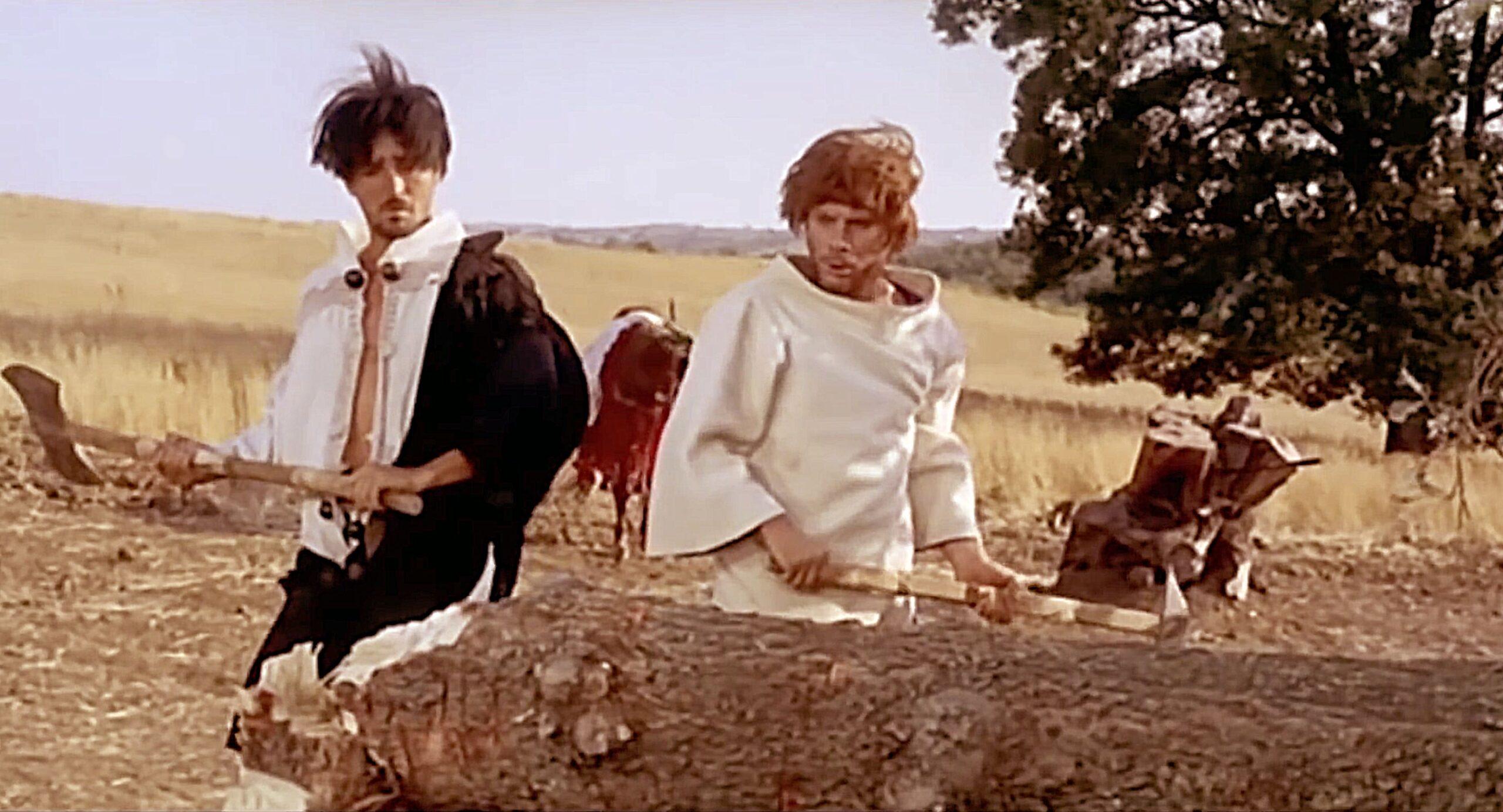 Vittorio Gassman e Gian Maria Volonté