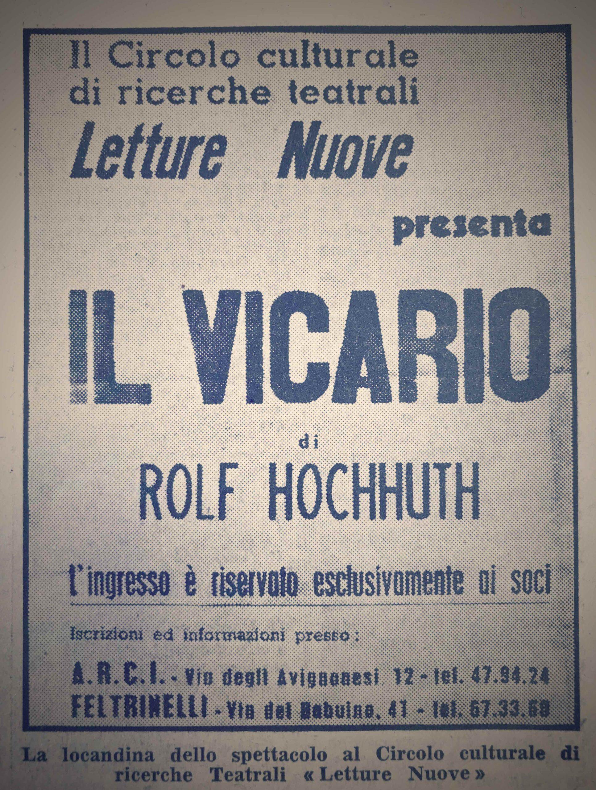 Il teatro di Gian Maria Volonté
